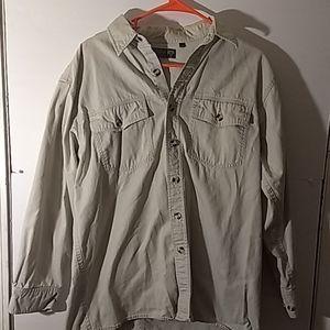 Kodiak Button Down Shirt SZ M